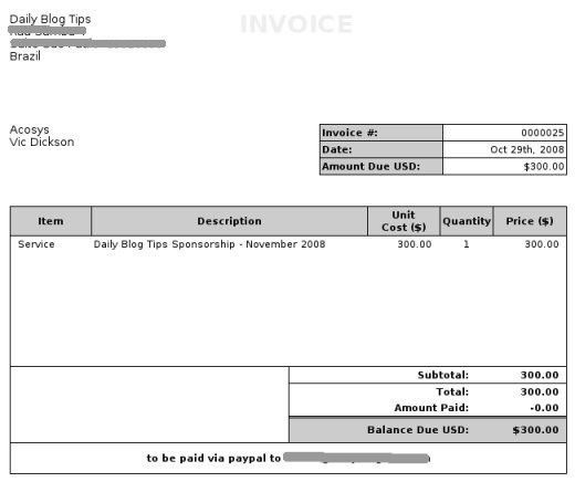 Download Invoice Template Freshbooks | rabitah.net
