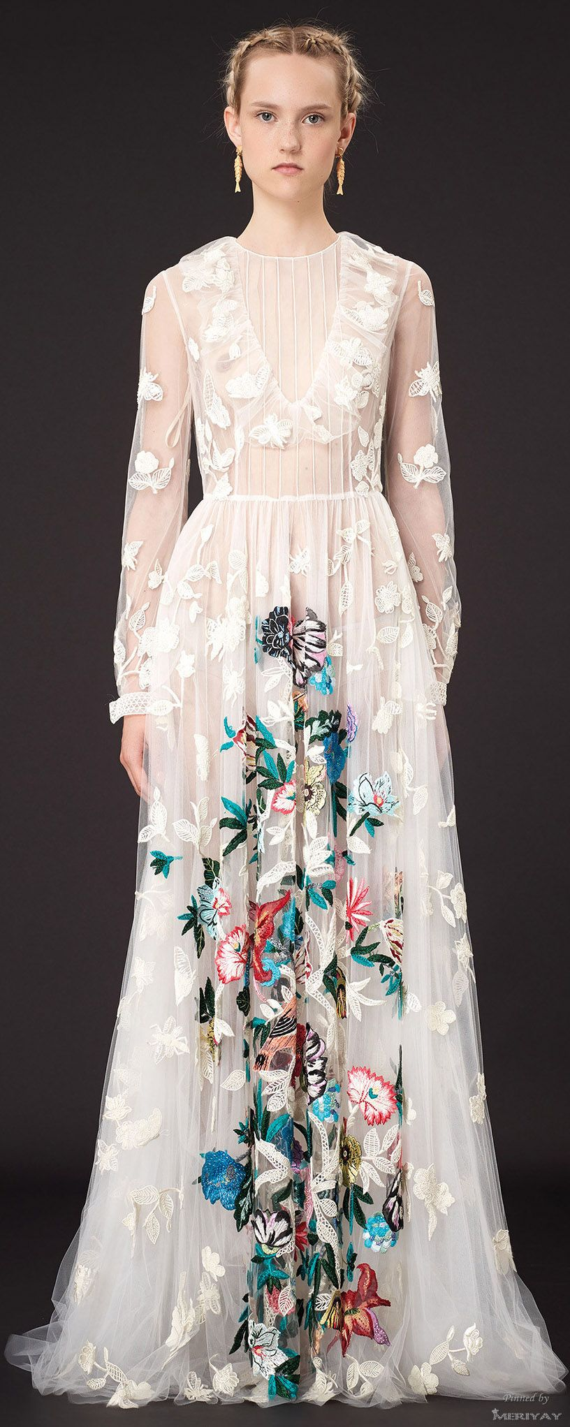 Valentino but my praise is for the team that made this dress what