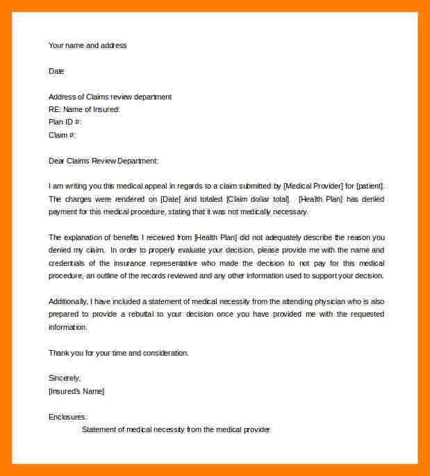 11+ medical appeal letter sample | teller resume