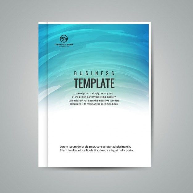 Business booklet template Vector | Free Download