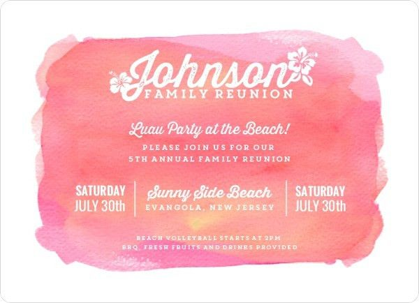 Family Reunion Save The Date Wording, Family Reunion Invitation Ideas