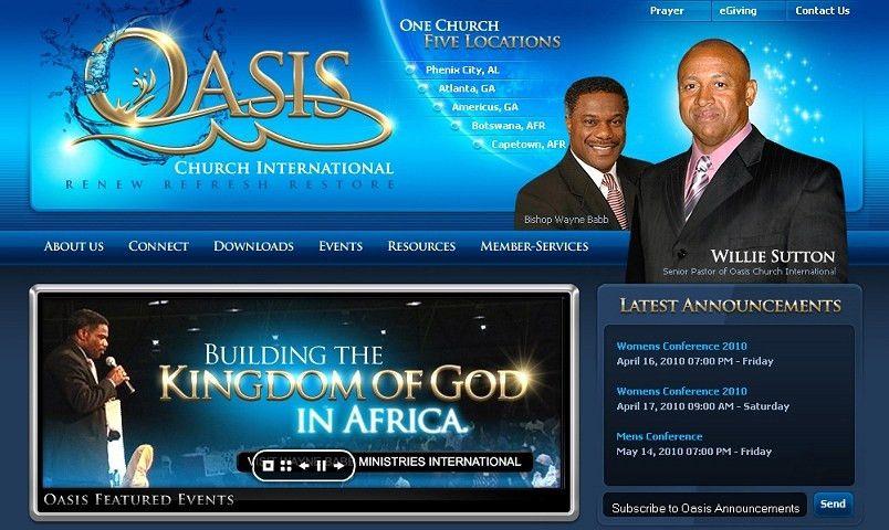 Web Design Quote Columbus GA | Church Website Design | Church ...
