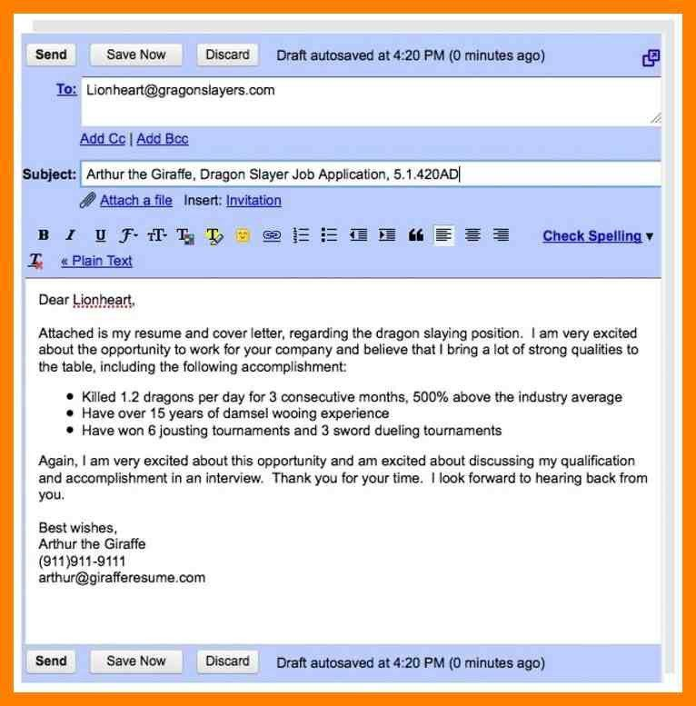 Attached Resume Email. sample email how to answer emails ...