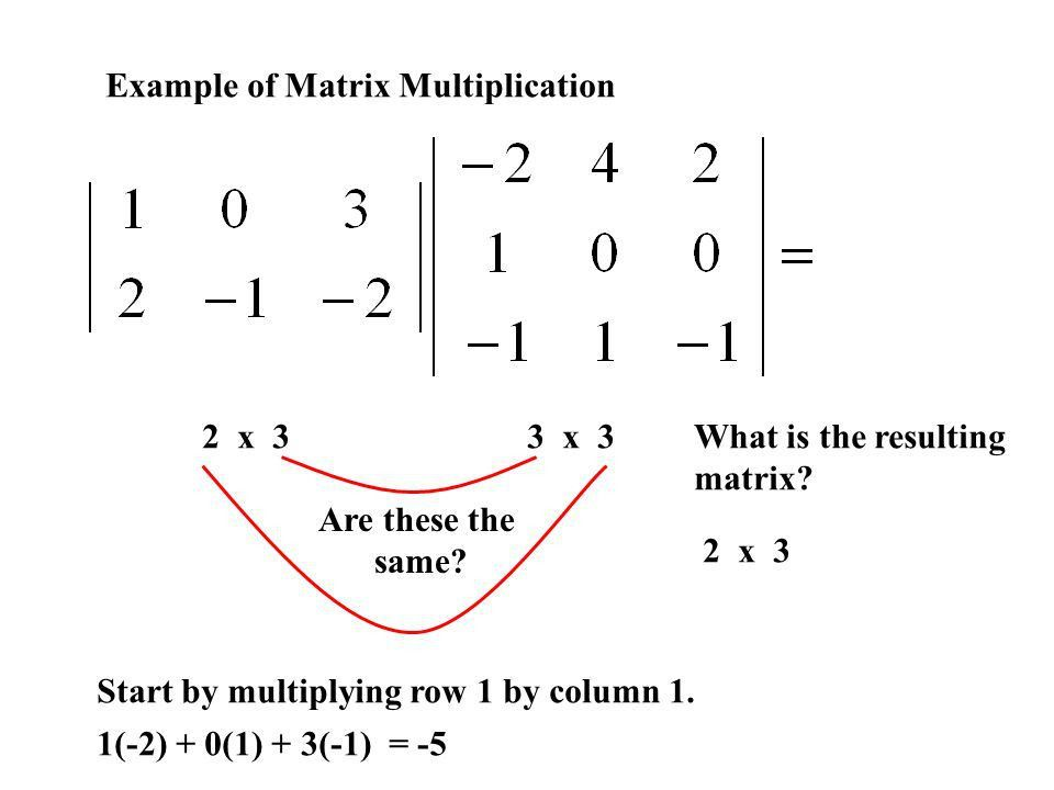 8.2 Operations With Matrices - ppt download