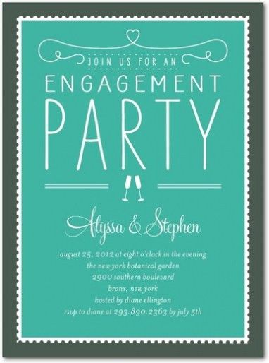 Engagement Party Invitations Which Viral In 2017 | THEWHIPPER.COM