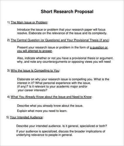 Research proposal outline sample - Premier & Unique School ...