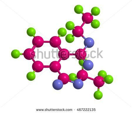 Molecular Structure Diethyl Phthalate Dep Example Stock ...