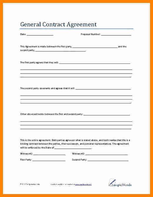 4+ written agreement between two parties | job resumed