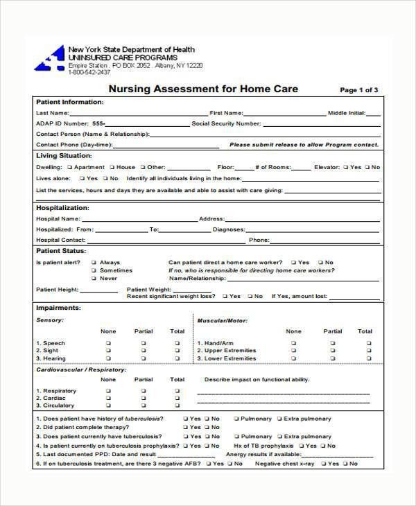 Needs assessment format needs assessment 8 free download for pdf nursing assessment template nursing assessment assessment nursing pronofoot35fo Image collections