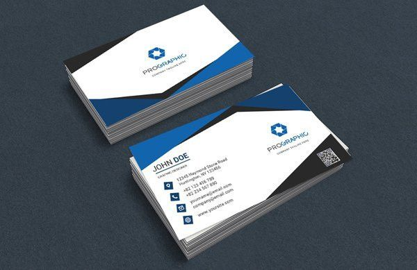 55+ Best Free Modern Business Card PSD Templates - WebRecital.com