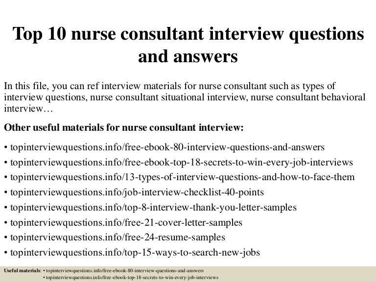 Nurse Consultant Job Description Top Nurse Consultant - Roof consultant cover letter