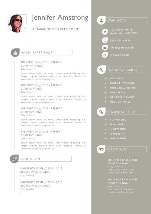 Pretty Design Resume Template Pages 15 7 Free Resume Templates ...