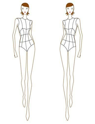how to sketch figures for dressmaking - Google Search | Fashion ...