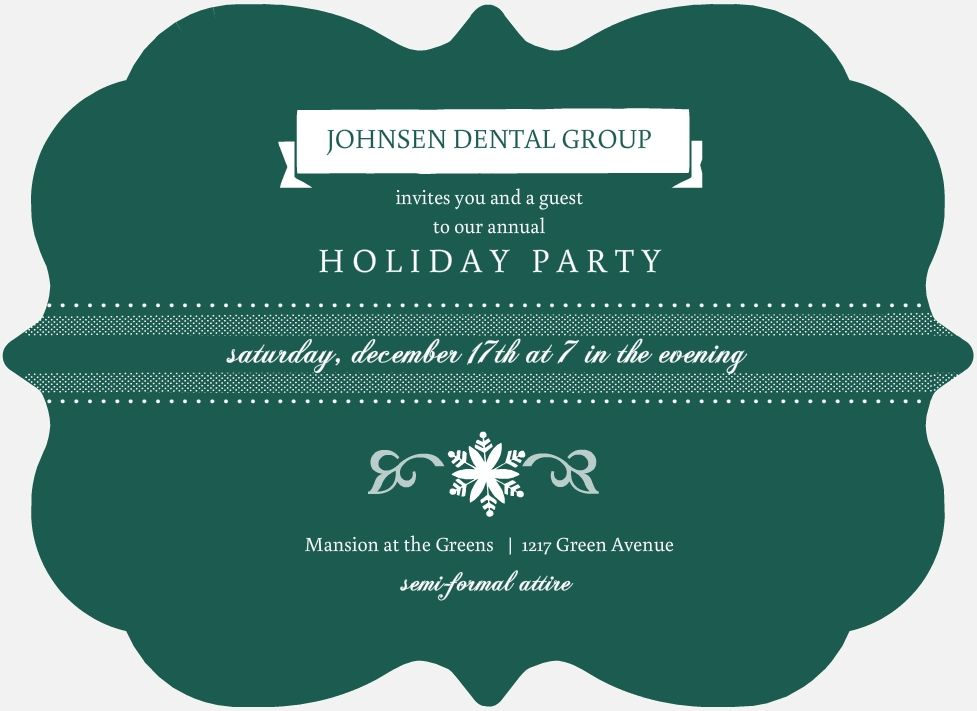 Office Christmas Party Invitation Wording Ideas, Samples, and Tips
