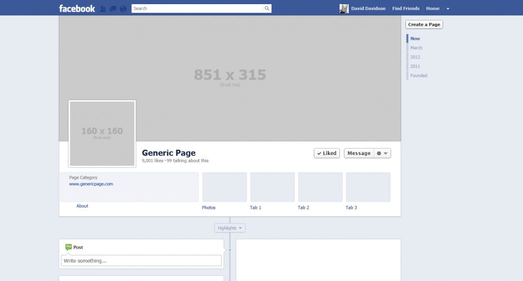 Microsoft Word Facebook Template Virtren Com Blank For Powerpoint ...
