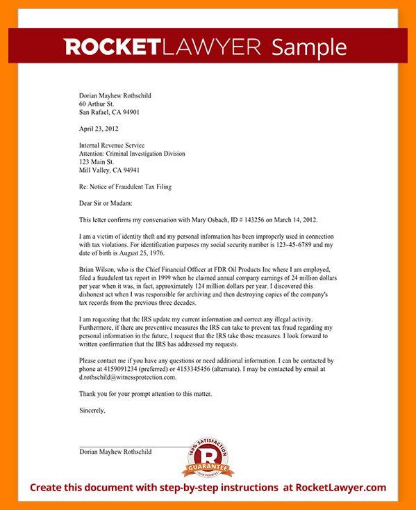 8+ incident report letter   addressing letter