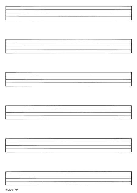 blank music staff to print - Google Search | Daniel | Pinterest ...