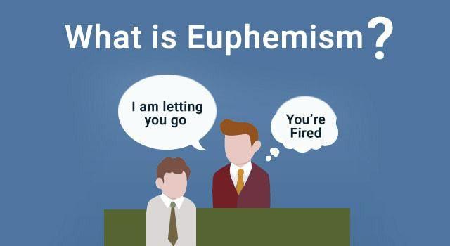 Euphemism - TALK School of Languages - BLOG