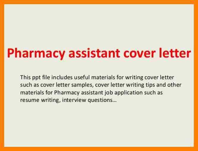 7+ pharmacy assistant cover letter | packaging clerks
