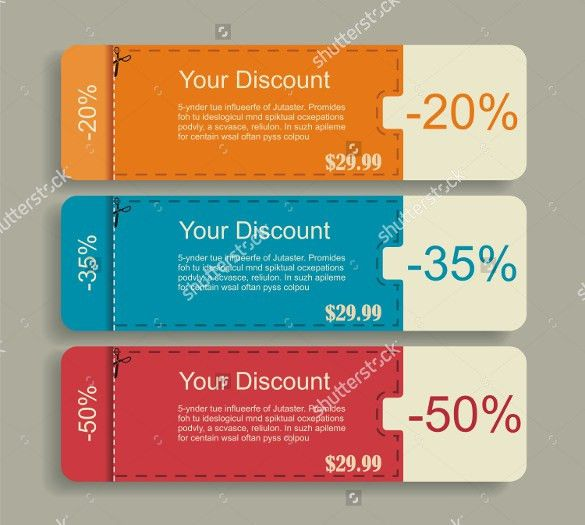 35+ Coupon Design Templates – Free Sample, Example, Format ...
