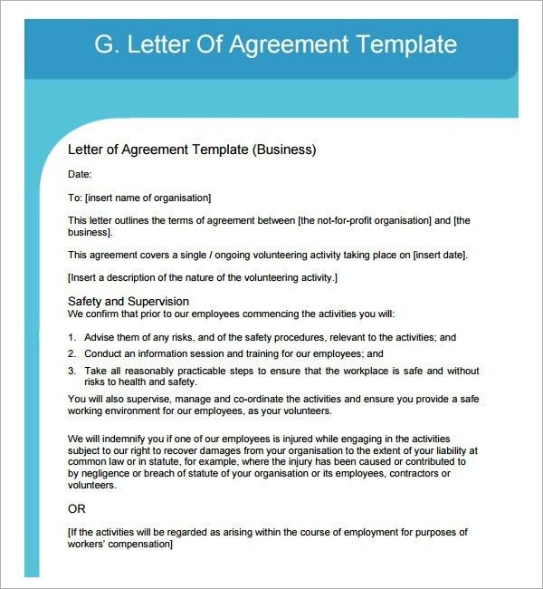 Heads Of Agreement Template Free | Samples.csat.co