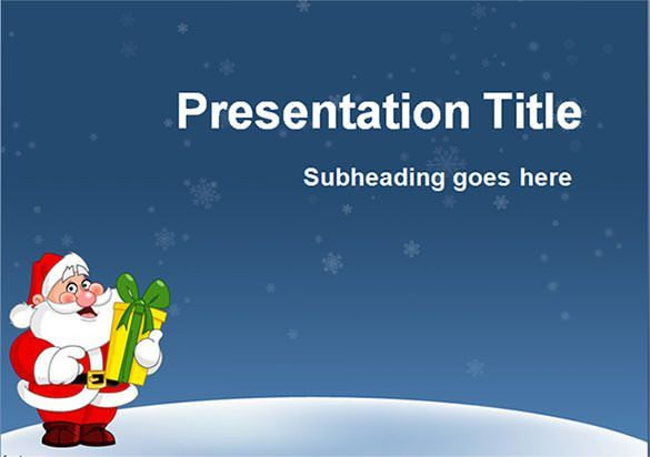 58+ Christmas PowerPoint Templates – Free AI, Illustrator, PSD ...