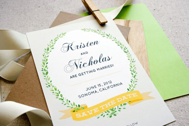 Free, Printable Save the Date Templates You'll Love