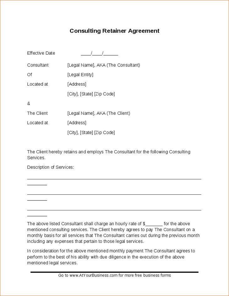 Download Retainer Invoice Sample | rabitah.net