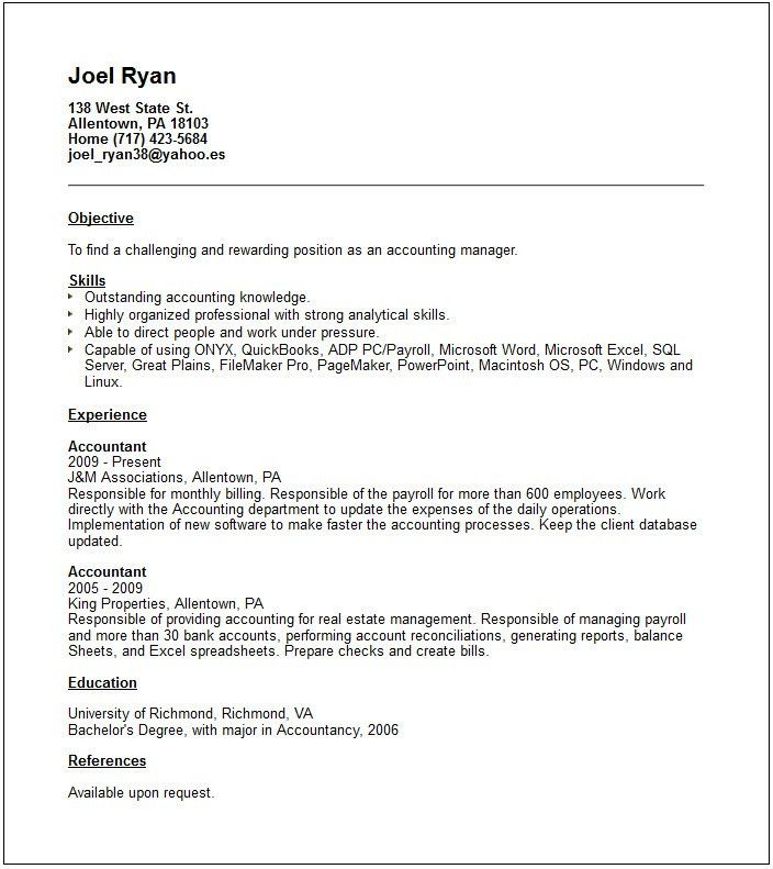 accountant resume sample. click here to download this property ...