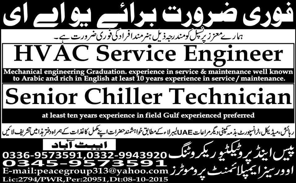 Engineering Jobs in Pakistan, Pakistan Engineering Jobs