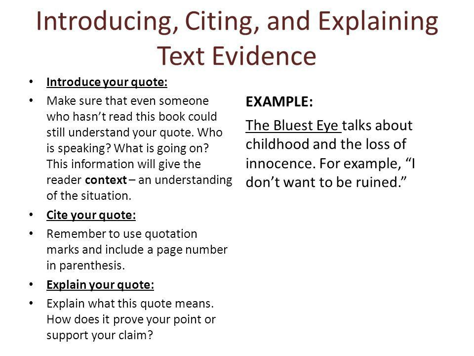 Citing a quote from a book in an essay | Homework Service
