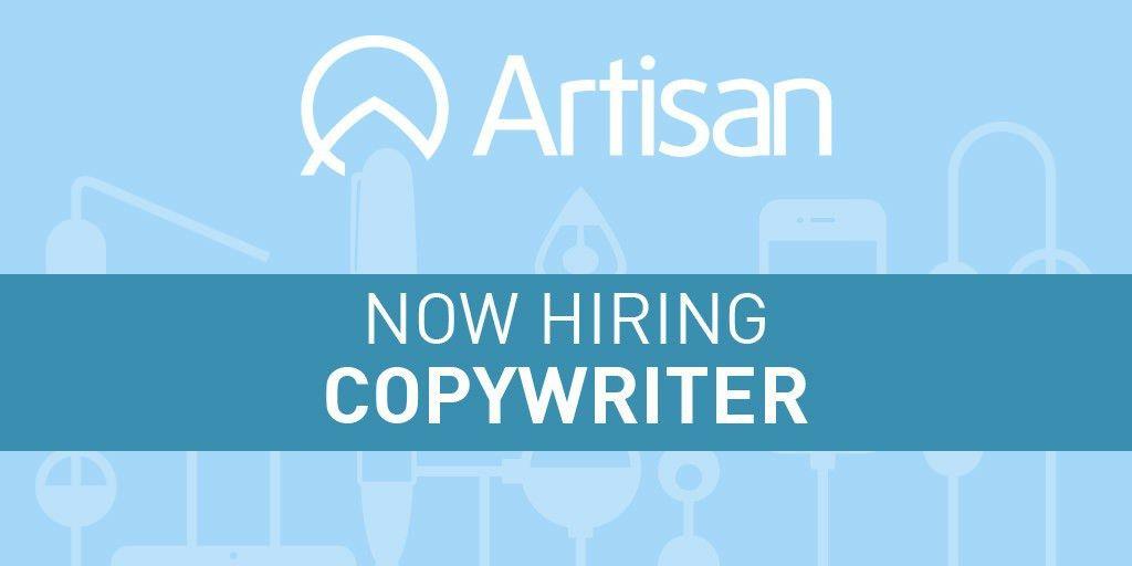 Copywriter Job Description - Artisan Talent