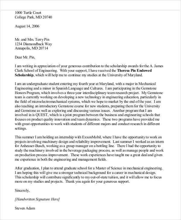 9+ Sample Award Thank You Letter - Free Sample, Example, Format ...
