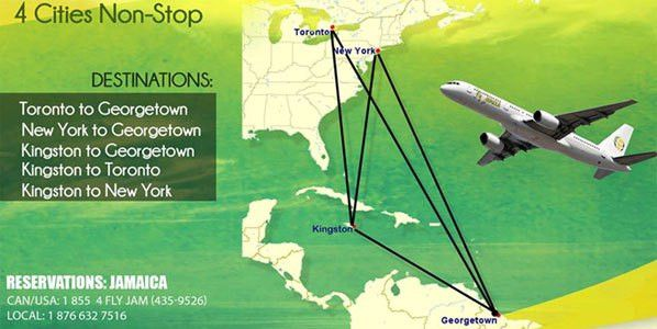Fly Jamaica launches intra-Caribbean flights; starting Toronto ...