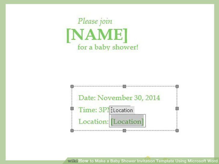 Baby Shower Invites Templates – gangcraft.net