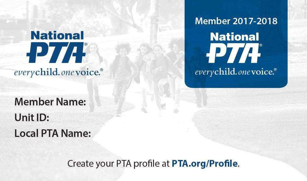Membership Card Resources - For Members - National PTA