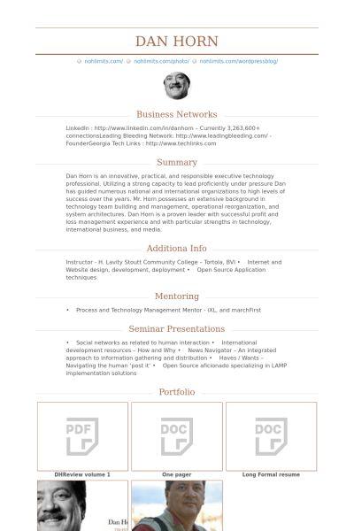 Development Manager Resume samples - VisualCV resume samples database