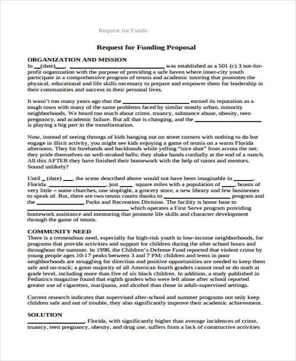 Request Proposal Form - 9+ Free Documents in Word, PDF