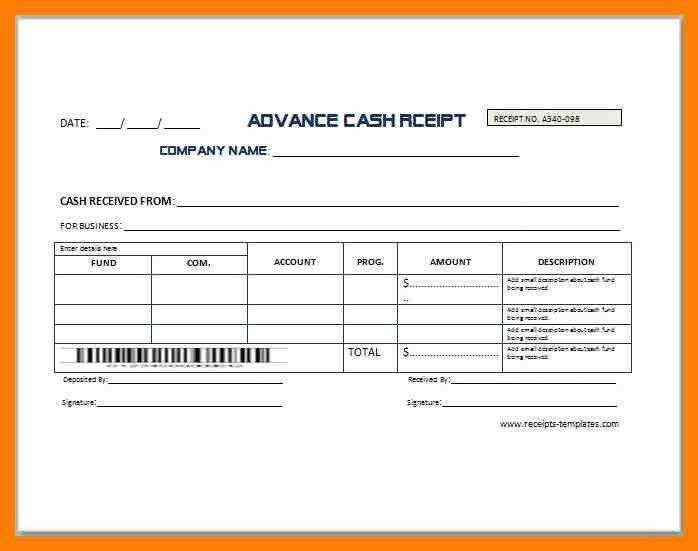 4+ money receipt sample format | protect letters