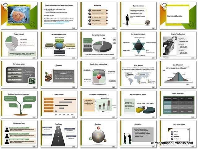 Business Plan Template Powerpoint Free Download - Tomium.info