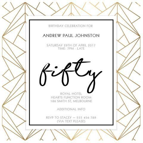 Best 25+ Birthday invitations adult ideas on Pinterest | 70th ...