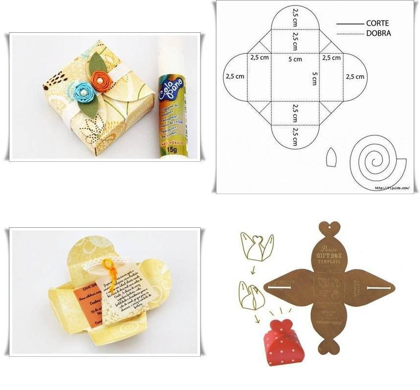 DIY Beautiful Gift Boxes Templates | UsefulDIY.com