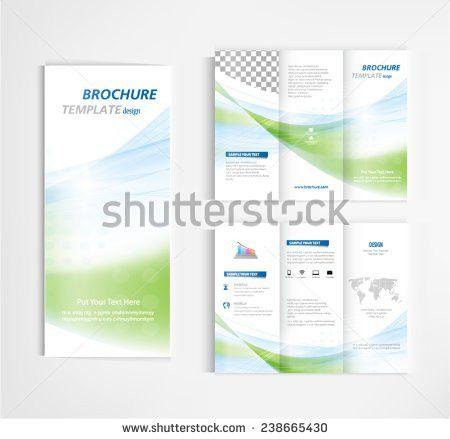 Annual Report Template Design Book Cover Stock Vector 402052807 ...