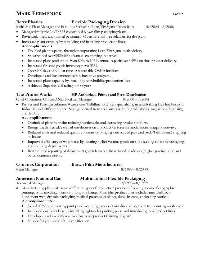 2015 Fermenick Resume