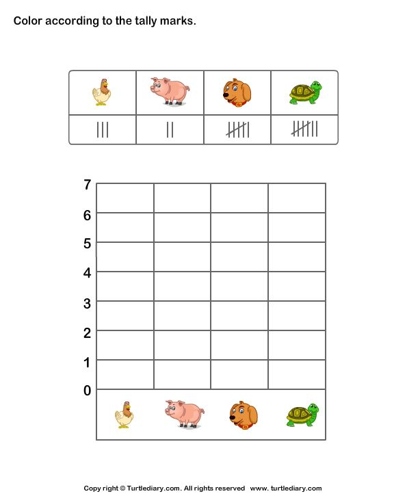Sample Chart Templates » Tally Chart Template - Free Charts ...