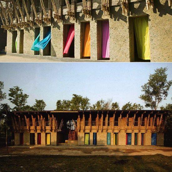 architecture handmade school bangladesh