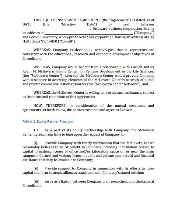 Investment Agreement Doc - cv01.billybullock.us
