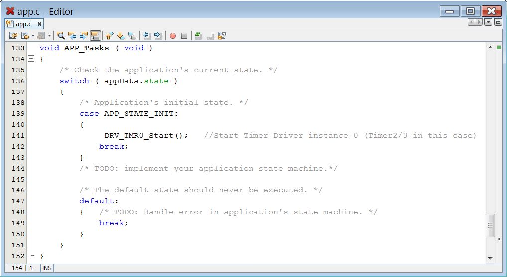 Timer Static Driver Project Using chipKIT™ WF32 (step-by-step ...