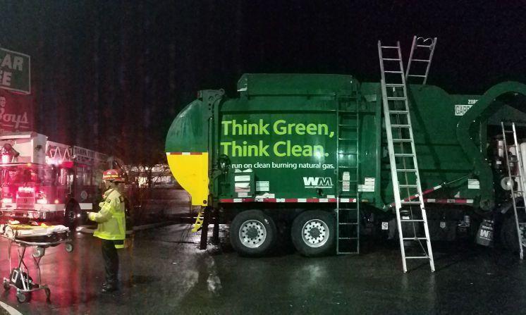Man sleeping in Tampa bin injured by garbage truck compactor ...