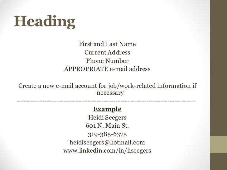 What Is The Cover Letter For Resume